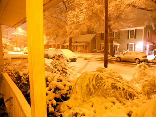 Post-Christmas Snow in Durham 544AM