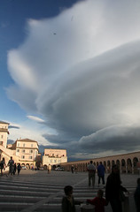 Assisi lenticular clouds 1