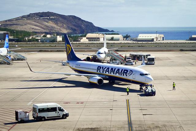 Ryanair departure