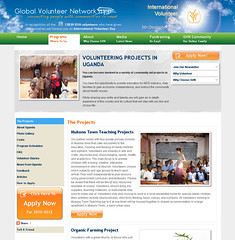 Global Volunteer Network website