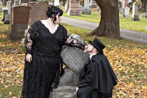 Laura and Sam's Halloween Wedding