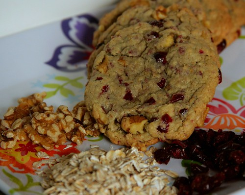 Cranberry & Walnut cookies