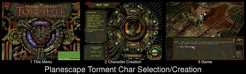 Character Creation in Planescape Torment
