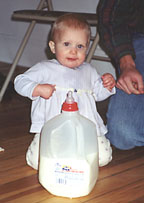 Maddie with Milk_2