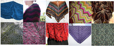 10 Shawls Collage