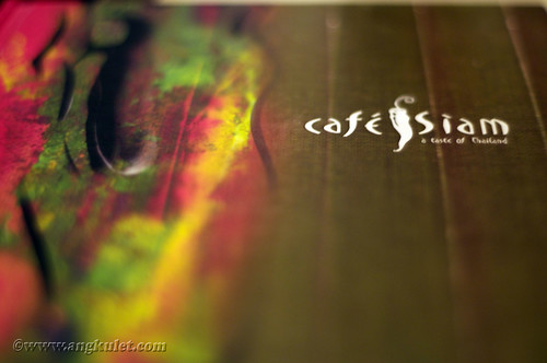 Cafe Siam, Central, HK 2010
