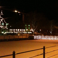 Falun by night