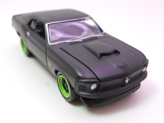 johnny lightning ford mustang boss 429 flat black (4)