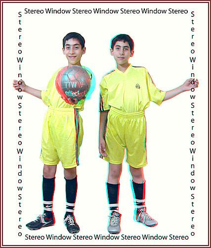 Shahrokh Dabiri's sons help explain the Stereo Window