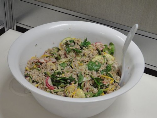 Buttermilk buckwheat salad