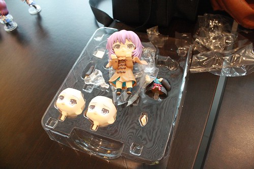 KairiZero also unboxed her new Nendoroid Nagato Yuki (Syou-shitsu version)