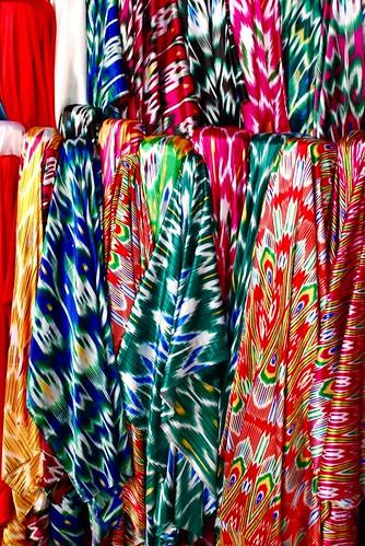 uyghur fabric