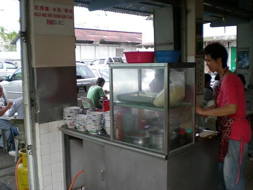 Oriental Park noodles stall, Kuching