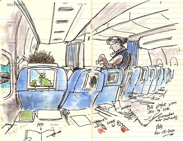 flying British Airways to London