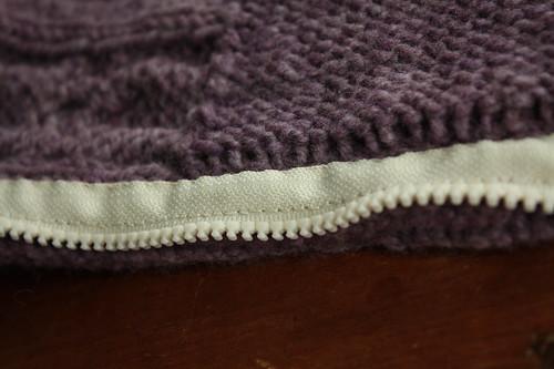 365.2 honeycomb inside zipper