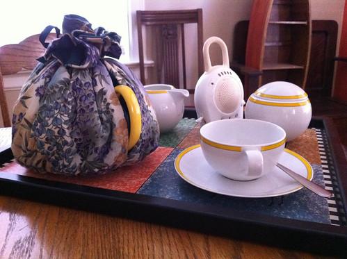 My tea service
