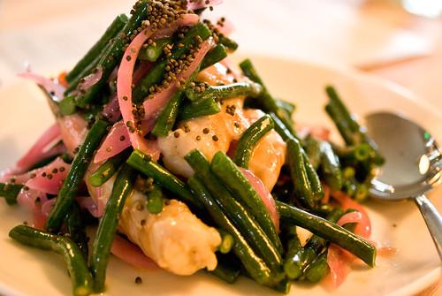 shrimp & bean salad