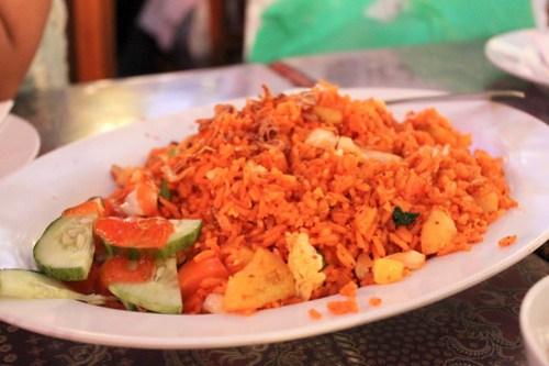 Sambal Fried Rice at King Satay