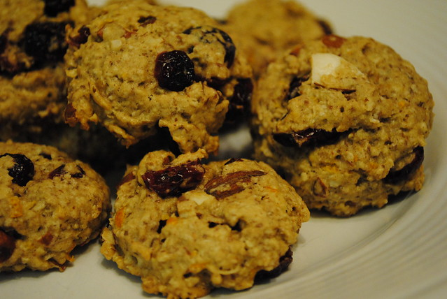 Oatmeal Cranberry Almond