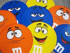 M & M Party Placemats