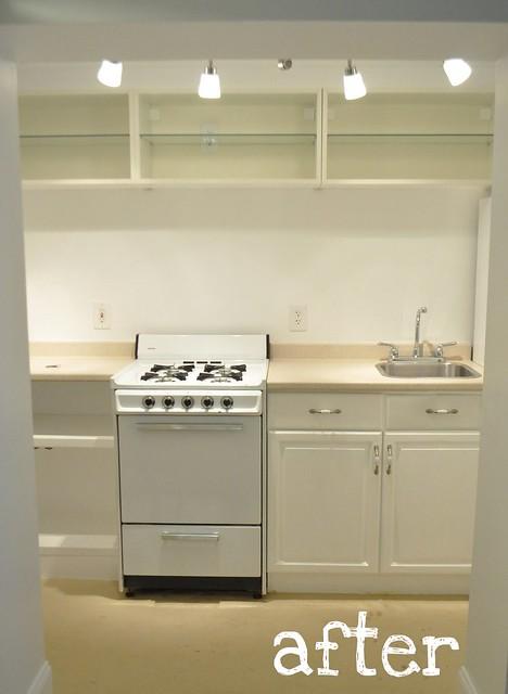 garden apt kitchen: After