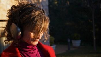 Soni listening to music