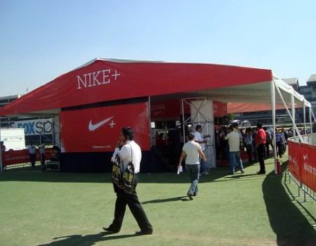 Entrega de paquetes Nike Corre Mexico