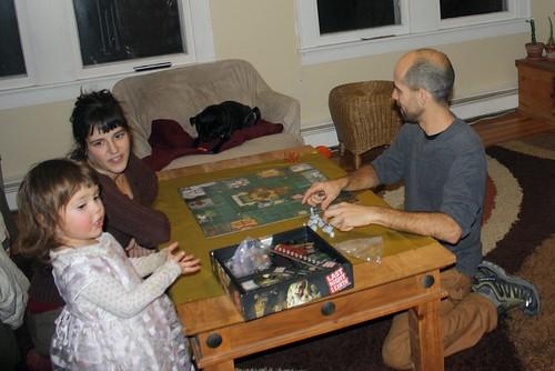 Amani, Thumbelina, and George