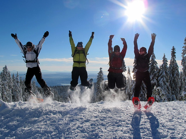Greater Vancouver Snowshoe - Hollyburn Mountain (1/6)