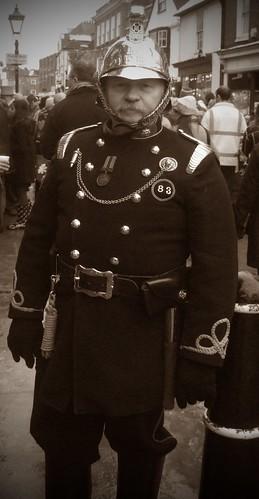 Dickension Festival - Fire Chief