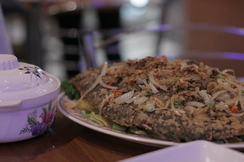 In the Vietnamese Restaurant