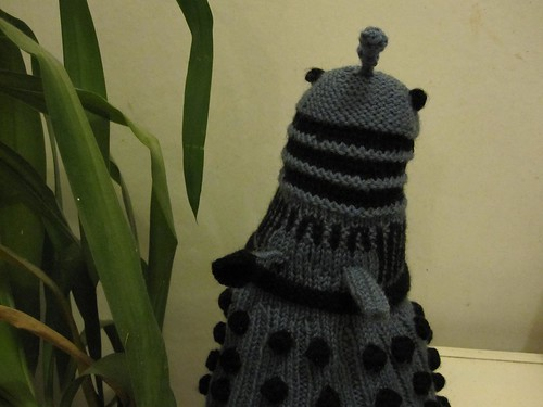 Knitted Dalek 2