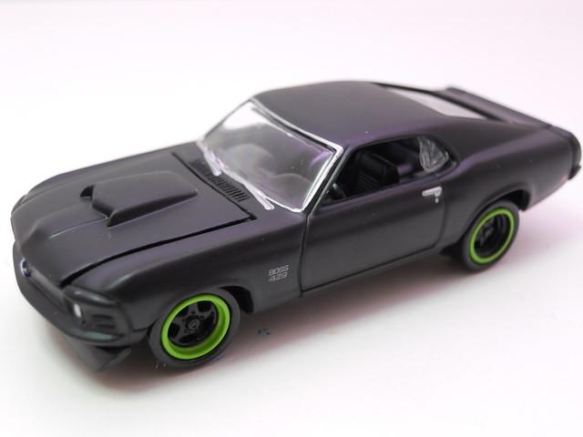 johnny lightning ford mustang boss 429 flat black (3)