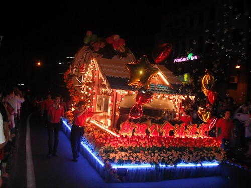 Sibu Christmas parade
