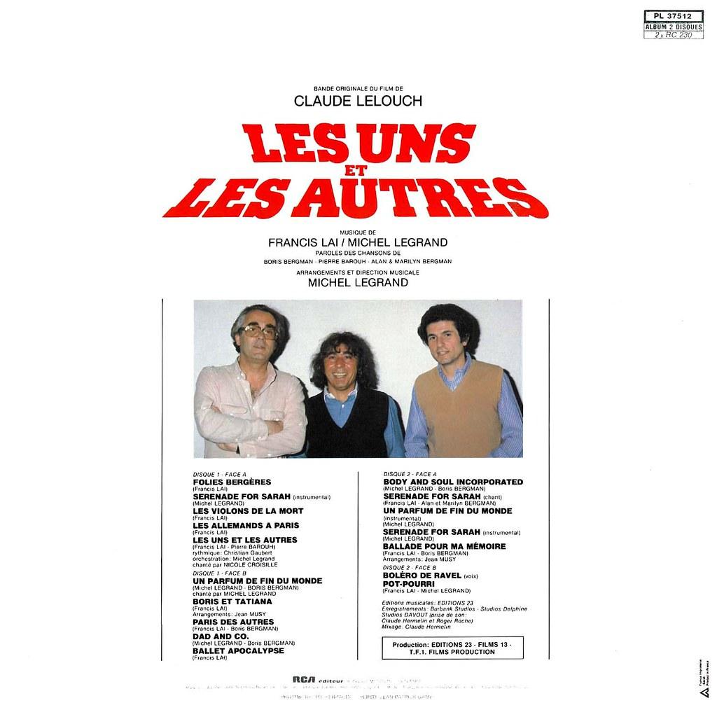 Francis Lai, Michel Legrand - Les uns et les autres