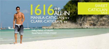 Fly to Caticlan, Boracay