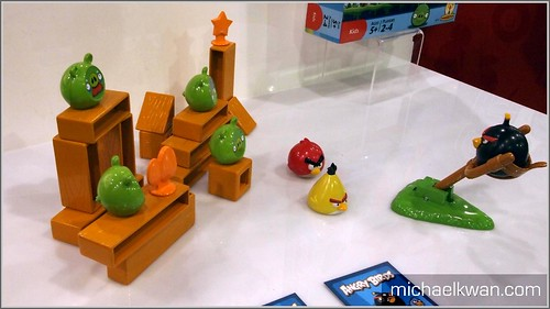 Mattel Angry Birds (CES 2011)