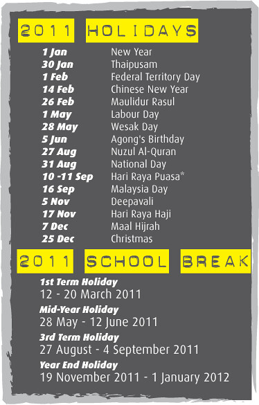 Holidays-&-School-Break-2011
