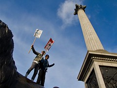 Save EMA - London students protest against fee...