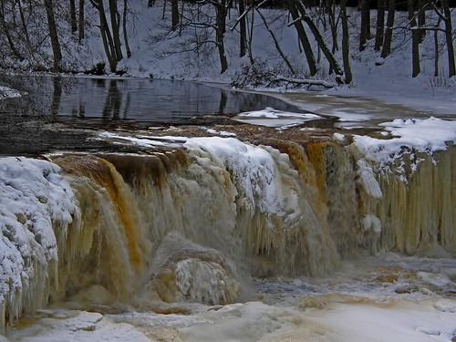 Keila waterfall near Tallinn