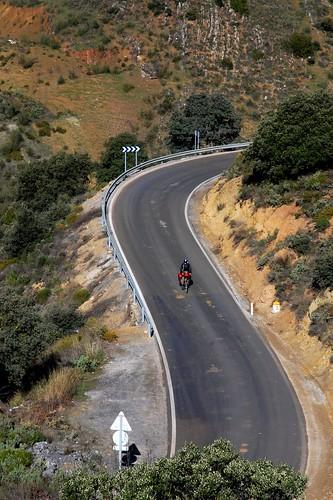 A twisty road