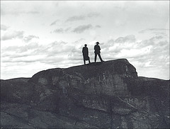 Men on a Mountain in Keene New Hampshire