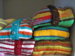 Handknit sweaters