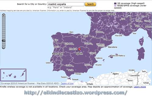 Cobertura 3 G en España
