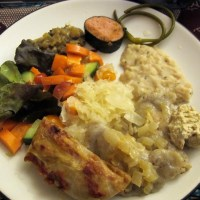 Gluten-Free, Vegan Ukrainian Christmas Eve Dinner