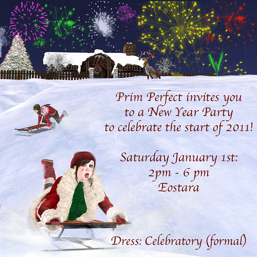 Prim Perfect Publications New Year Party!