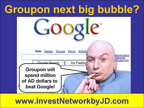 Groupon next big bubble?
