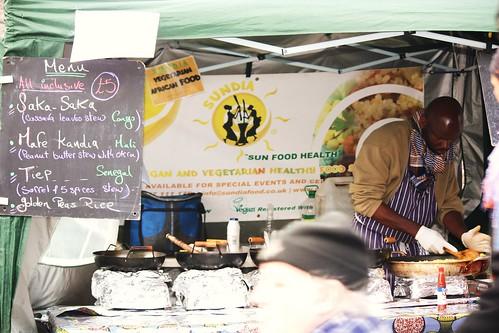African Food Vendor
