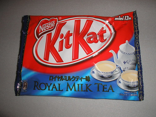 Royal Milk Tea Kit Kats