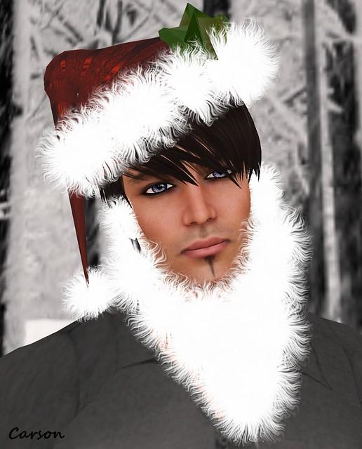 HUDSON Clothing Co  Santa Hat Beard N Candy Cane